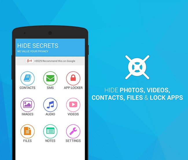 Lock Apps & Hide Videos